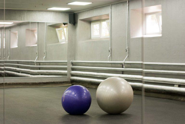 Реконструкция спортзала в Красноармейске